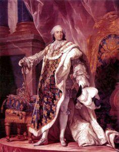 Louis XV, roi de France et de Navarre (1710-1774) par Louis Michel Van Loo