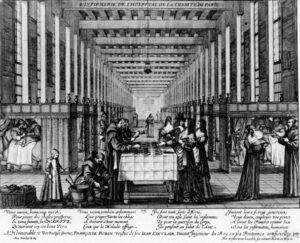Infirmerie de l'Hôpital de la Charité de Paris (non datée)