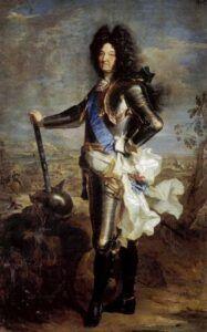 Hyacinthe Rigaud, Portrait de Louis XIV, 1694, huile sur toile, 277x190 cm, Musée du Prado, Madrid.